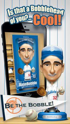 Basebobble App FREE - April 1 Create your own baseball bobbleheads