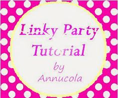 Tutorial Pon Pon e....Linky Party