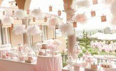jolie décoration d'anniversaire pour fille : 1 an