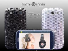 samsung galaxy s3 cases and covers | Samsung Galaxy S3 gets smothered with Crystal Rocked Swarovski cover ...