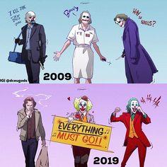 To the People who have seen :- Yes I am aware of the Joker ending. Still,Do you like take of him having such an origin or do u… Joker Comic, Joker Batman, Joker Art, Joker And Harley Quinn, Joker Images, Joker Pics, Comic Collage, Joker Drawings, Heath Ledger Joker