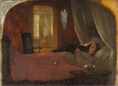 The Last Sleep, George Cochran Lambdin, circa 1858, Gift of Peter A. Vogt