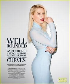Amber Heard: NYT Magazine