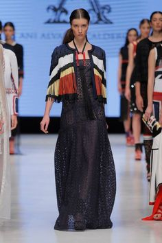 Ani Alvarez Calderón S/S 15 Perú #anialvarezcalderon #fashion
