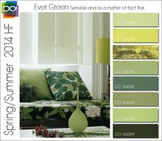 2014 Spring/Summer predicted colour trends: Ever Green