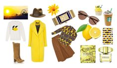 """lemon"" by jskuzminova ❤ liked on Polyvore featuring Witchery, J.W. Anderson and Tory Burch"
