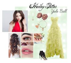 """Hailey Potter"" by cinwolff on Polyvore featuring Kate Spade and Gianvito Rossi"
