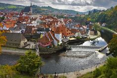 Chesky  Crumlov, Czech Republic !!!   The 19 Most Charming Towns In The World. Must-See Places To Visit.