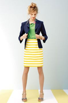 Get creative with your business casual look! Embrace the color.