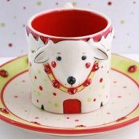 temp-tations® Figural Reindeer Mug & Plate Gift Set