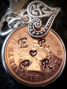 2015 First 1st Wedding Anniversary Personalised lucky penny PRESENT HUSBAND Wife…