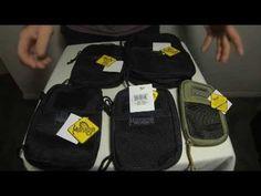 2013 Comparison 5 Maxpedition Pocket Organizers Side by side - Micro Mini EDC Fatty & Beefy - YouTube