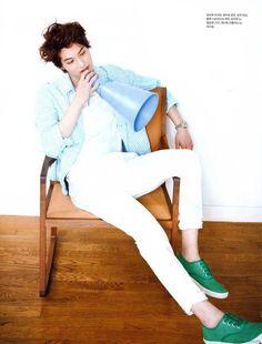 vogue-uk:  Photos of CNBLUE's Jonghyun for Elle Girl