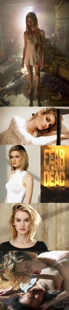 Lexi Johnson as Gloria - Fear the Walking Dead _ Season 1, Episode 1, first infected
