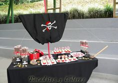 #pirate party food ideas #pirate deco