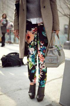 colorful pants!