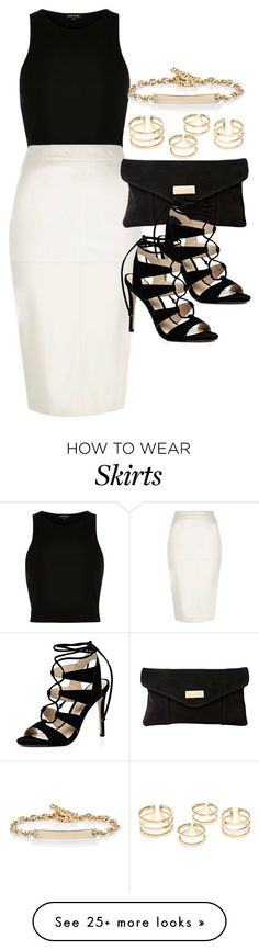 """""""Style #9669"""" by vany-alvarado on Polyvore featuring River Island and Hoorsenbuhs"""