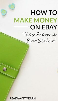 How to make money on eBay - tips from a pro seller!