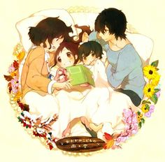 A story before bedtime wolf Children
