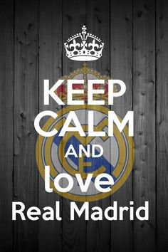 i love real Madrid forever love this team whatever they loss or win <3<3<3<3