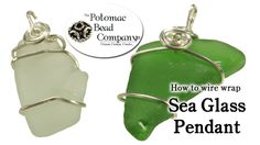 This tutorial video from The Potomac Bead Company teaches you how to easily wrap sea glass with wire to create your own unique pendants. This is an improved ...
