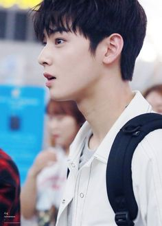Here to bless y'all   Eunwoo Astro