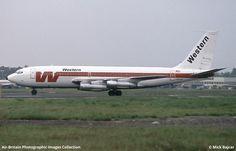 Boeing 720-047B Western Airlines