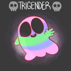 Trigender ghost