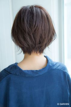 【Un ami ブチ】 自然に決まる 大人可愛いナチュラルボブ | GARDEN HAIR CATALOG | 原宿 表参道 銀座 美容室 ヘアサロン ガーデン Short Haircut Styles, Short Bob Hairstyles, Cool Hairstyles, Haircuts, Shot Hair Styles, Curly Hair Styles, Short Hair Tomboy, Hair Stations, Japanese Hairstyle
