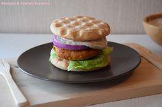 Σπιτικό φαλάφελ Mix - Miss Healthy Living How To Make Falafel, Waffle Sandwich, Crepes, Salmon Burgers, Donuts, Hamburger, Waffles, Sandwiches, Beignets