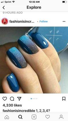 Cute Acrylic Nails, Acrylic Nail Designs, Nail Art Designs, Sparkle Nail Designs, Fabulous Nails, Perfect Nails, Gorgeous Nails, Fancy Nails, Trendy Nails