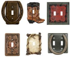 This is a great light switch plate for country houses or rooms.