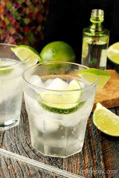 Gin Mojito Cocktail