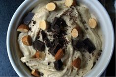 Looking for a different way to use up your ripe bananas? Make this raw almond chunky monkey ice cream.