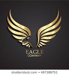 Zsschreiner stock photo and stock portfolio Logo Aigle, Phenix Tattoo, Sound Logo, Barber Logo, Ribbon Logo, Angels Logo, Golden Logo, Logo Shapes, 3d Cnc