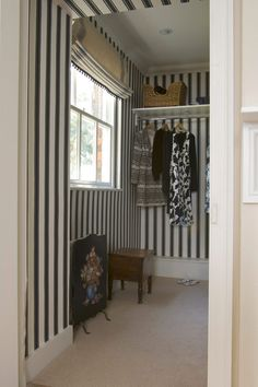 Block print stripe Farrow & Ball