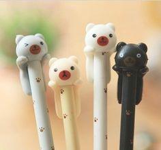 Home Office Supplies List New York Key: 6481211697 Cute Office Supplies, Art Supplies, Cute Pens, Cute Stationary, Gel Ink Pens, Best Pens, Kawaii Stationery, Kawaii Cute, Pet Gifts