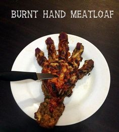Picture of Burnt Hand Meatloaf