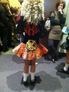 Hunger Games dress!!! I want this so bad! This would be great for you @Harlee Mariah