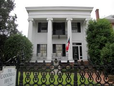 The Cannonball House in Macon GA. Built in 1853 as a planter's town house.