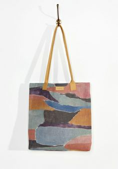 Painted shopper (I have this one and it's a fave)