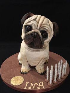 Pug cake - Cake by Galatia