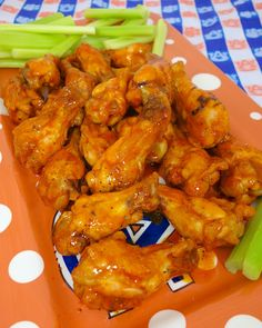 Dirty Steve's Wings {Football Friday} | Plain Chicken