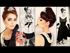 Breakfast At Tiffany's Makeup, Hair & Style Tutorial   Jackie Wyers - YouTube