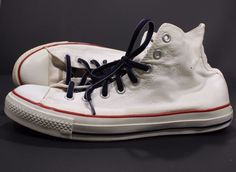 Converse Chuck Taylor Sneakers Sz 9 11 All Star Shoes Red White Blue Hi Tops  #Converse #Athletic
