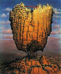 Europa - Jacek Yerka e seu surrealismo fantástico ~ Polonês