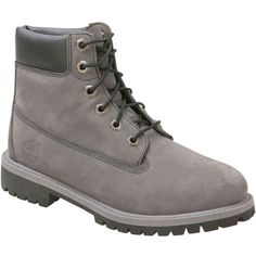 1199bfde Timberland Women's 6-Inch Premium Waterpoof Grey Winter Boot ($110) ❤ liked  on
