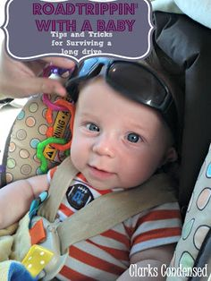 Tips for taking a road trip with a baby and not losing your sanity