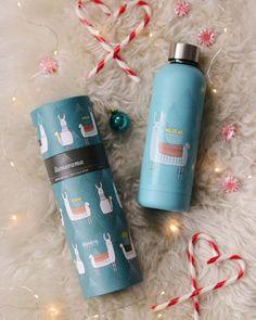 Llamarama Water Bottle via Cute Water Bottles, Tis The Season, Giving, Red Bull, Giveaway, Seasons, Studio, Day, Gifts