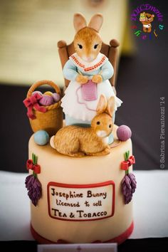 Beatrix Potter - Cake by Sheila Laura Gallo